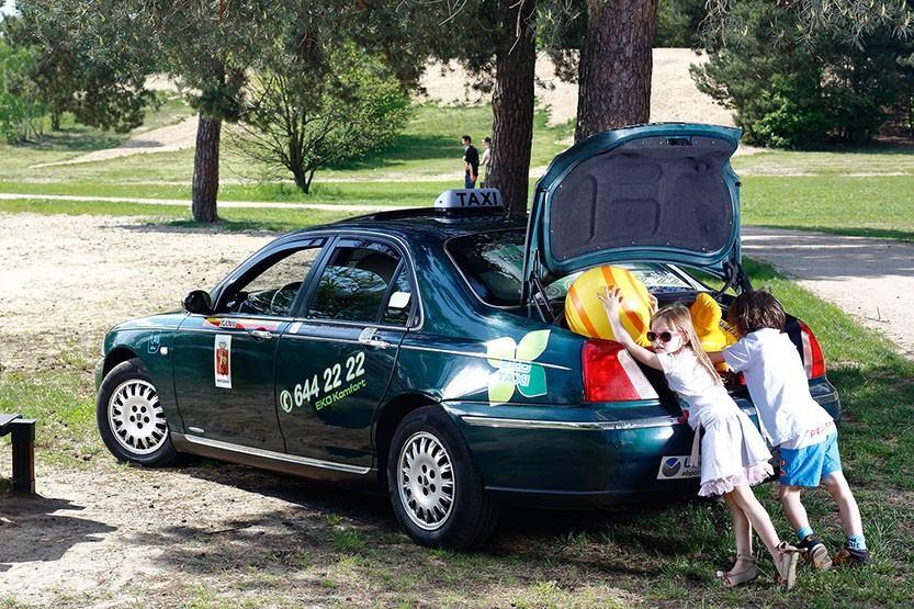 Eko Taxi to świetne rozwiązanie na wycieczkę z dziećmi