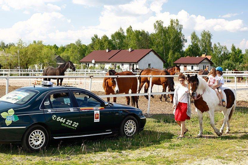 Monitorowany przewóz dzieci to jedna z usług w Eko Taxi Warszawa