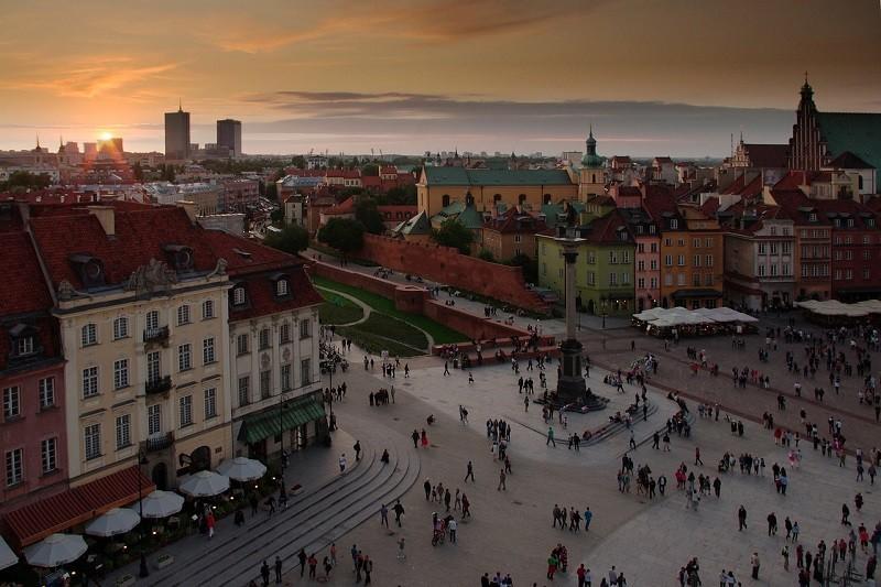 Warszawa słynie z wielu atrakcji